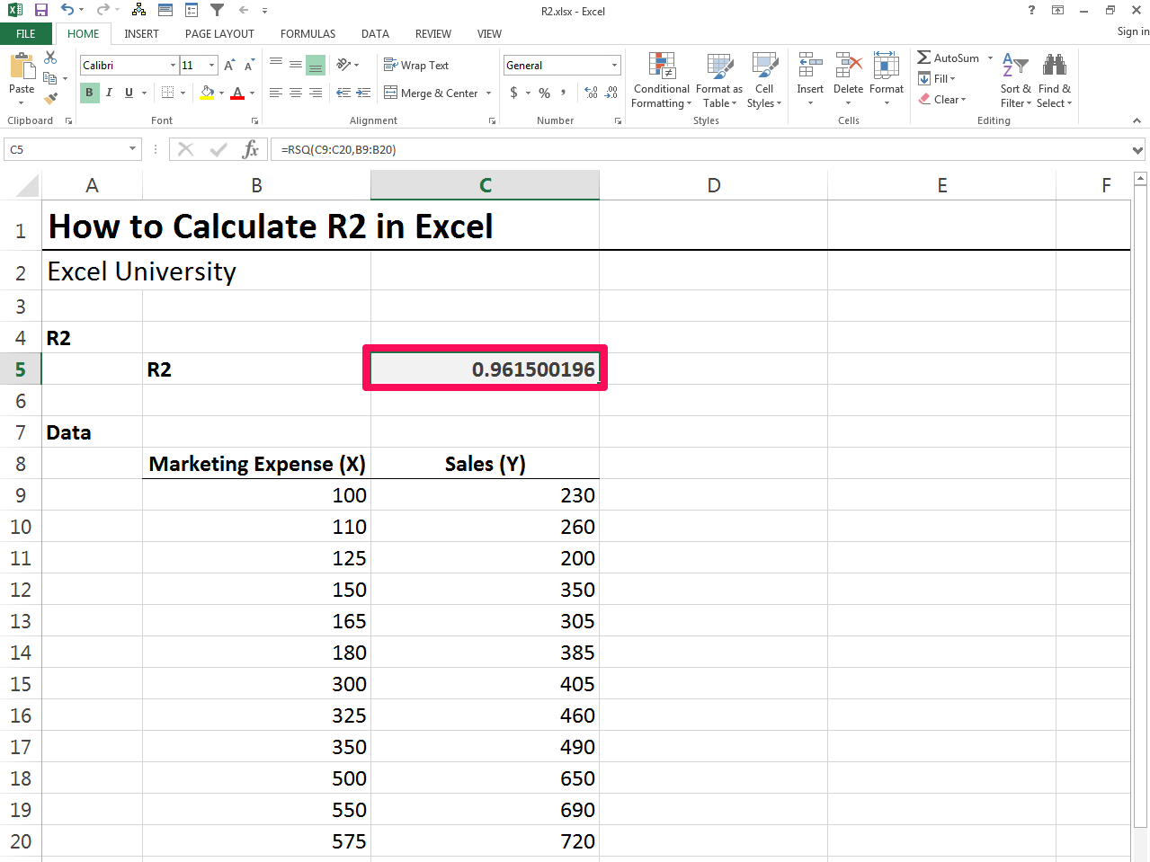 How To Do A Calibration Curve In Excel