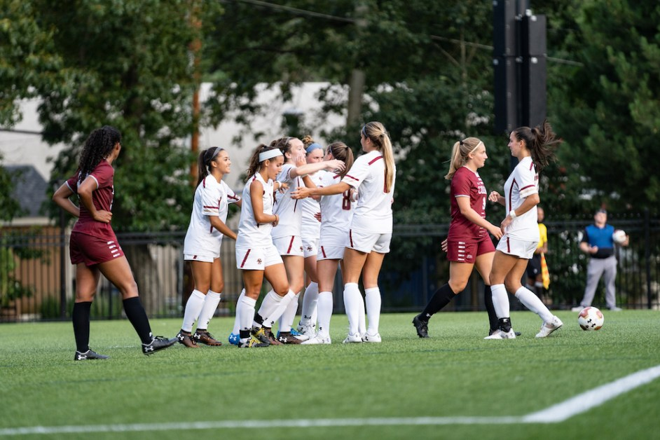 Smith, Eagles Open Exhibition Slate With Shutout of Colgate