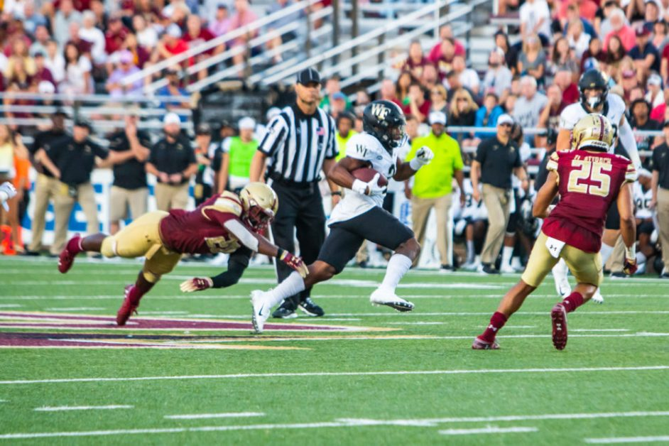 Notebook: Brown's Accurate Day Offset by Third-Down Woes in Wake Forest Defeat