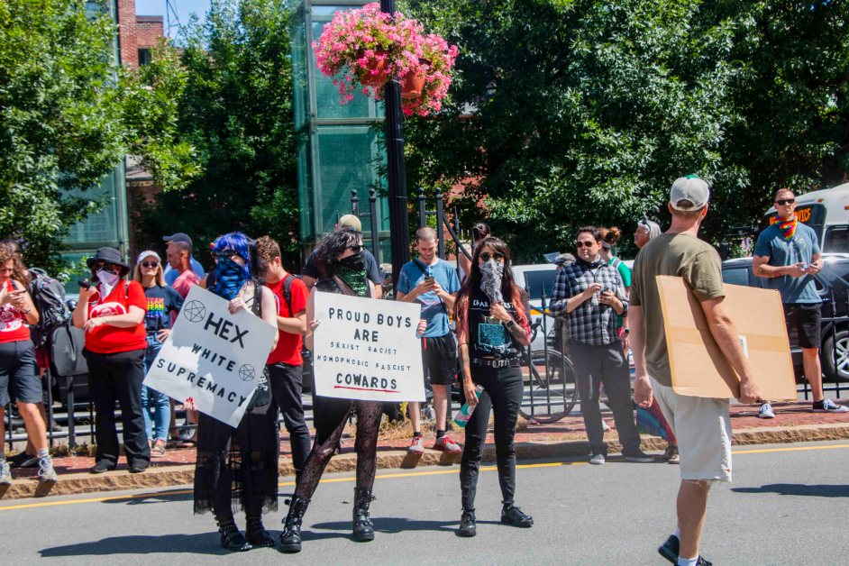 Protester Mask Ban Argued at City Council