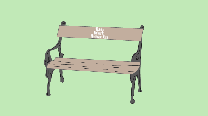 A Column on Procrastination, Time Management, and Bench Plaques