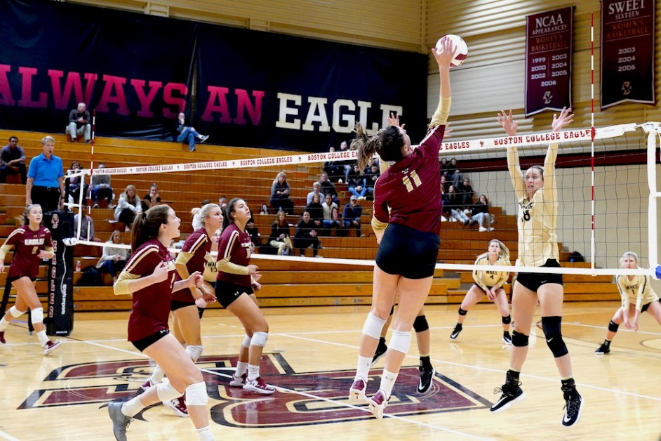 BC Pushes Conference Win Streak to Five Against Virginia
