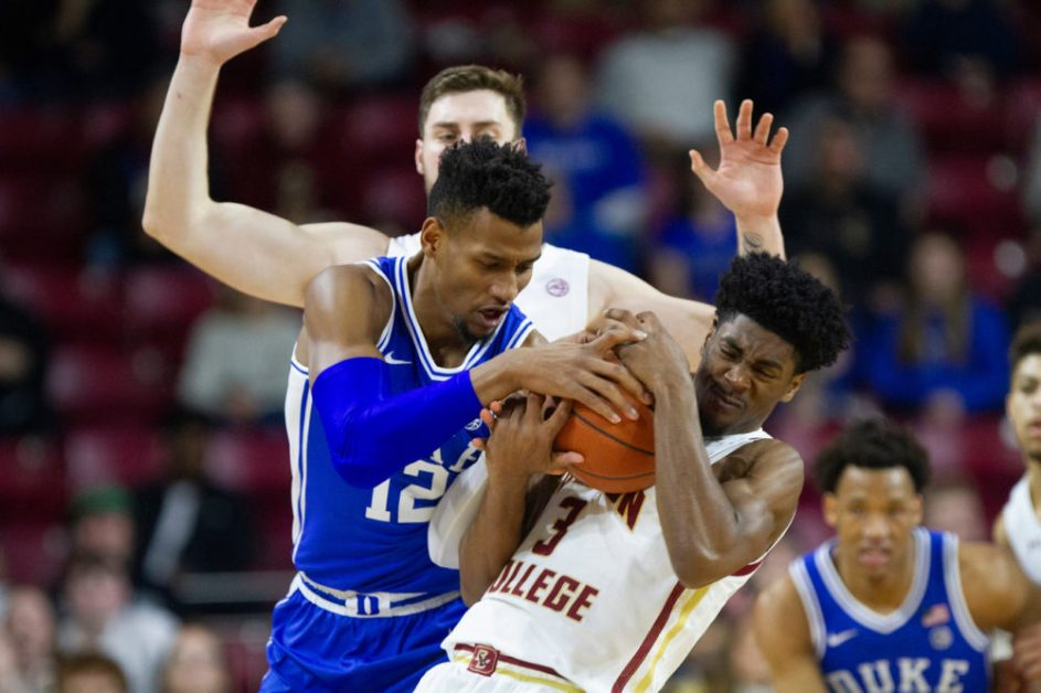 BC Gives No. 7 Duke a Scare but Falters Down the Stretch