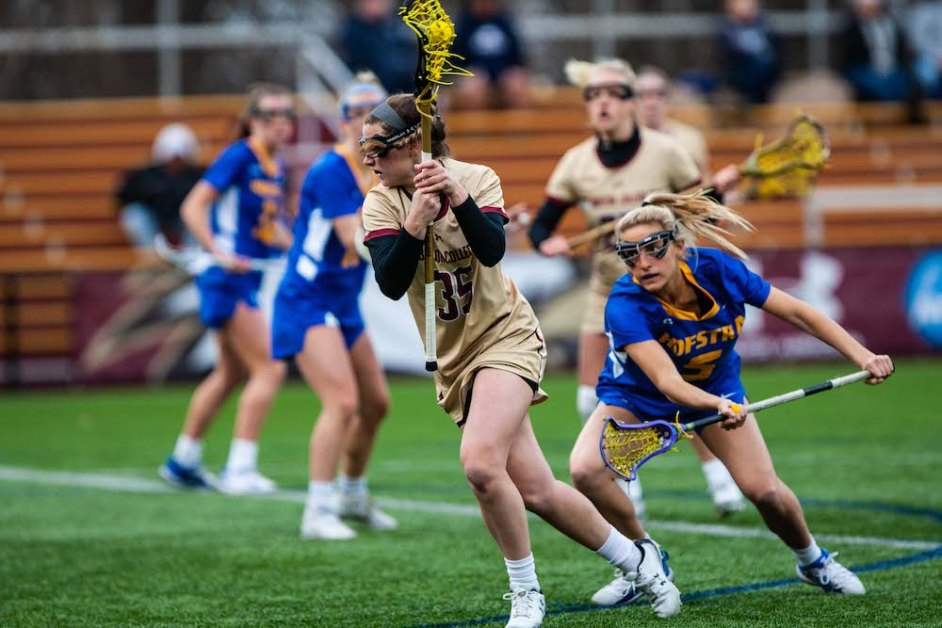 Eagles Explode on Offense, Beat Hofstra