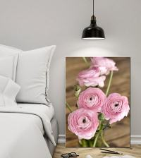Shabby Chic Canvas Art | Large Floral Wall Art | Rustic ...