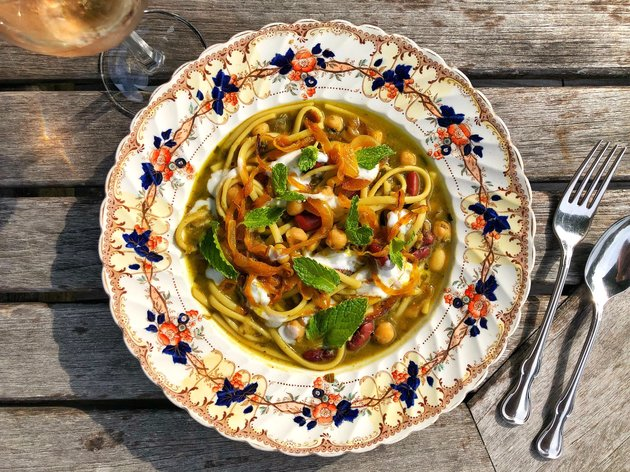 Persian Noodle Soup Recipe
