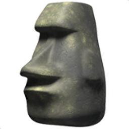 Easter Island Emoji
