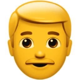 Man Emoji U1F468