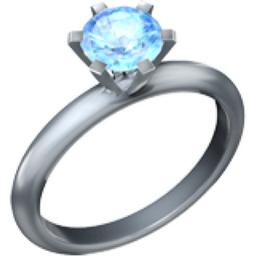 Ring Emoji U1F48D