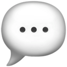 Speech Balloon Emoji U 1F4AC