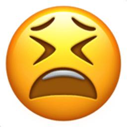 Tired Face Emoji U1F62B