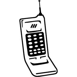 Clamshell Mobile Phone Emoji (U+1F581)