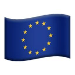 European Union Emoji (U+1F1EA, U+1F1FA)