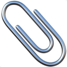 paperclip emoji u 1f4ce