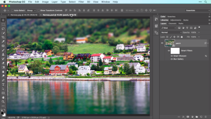 Adobe Photoshop - famous graphic design software