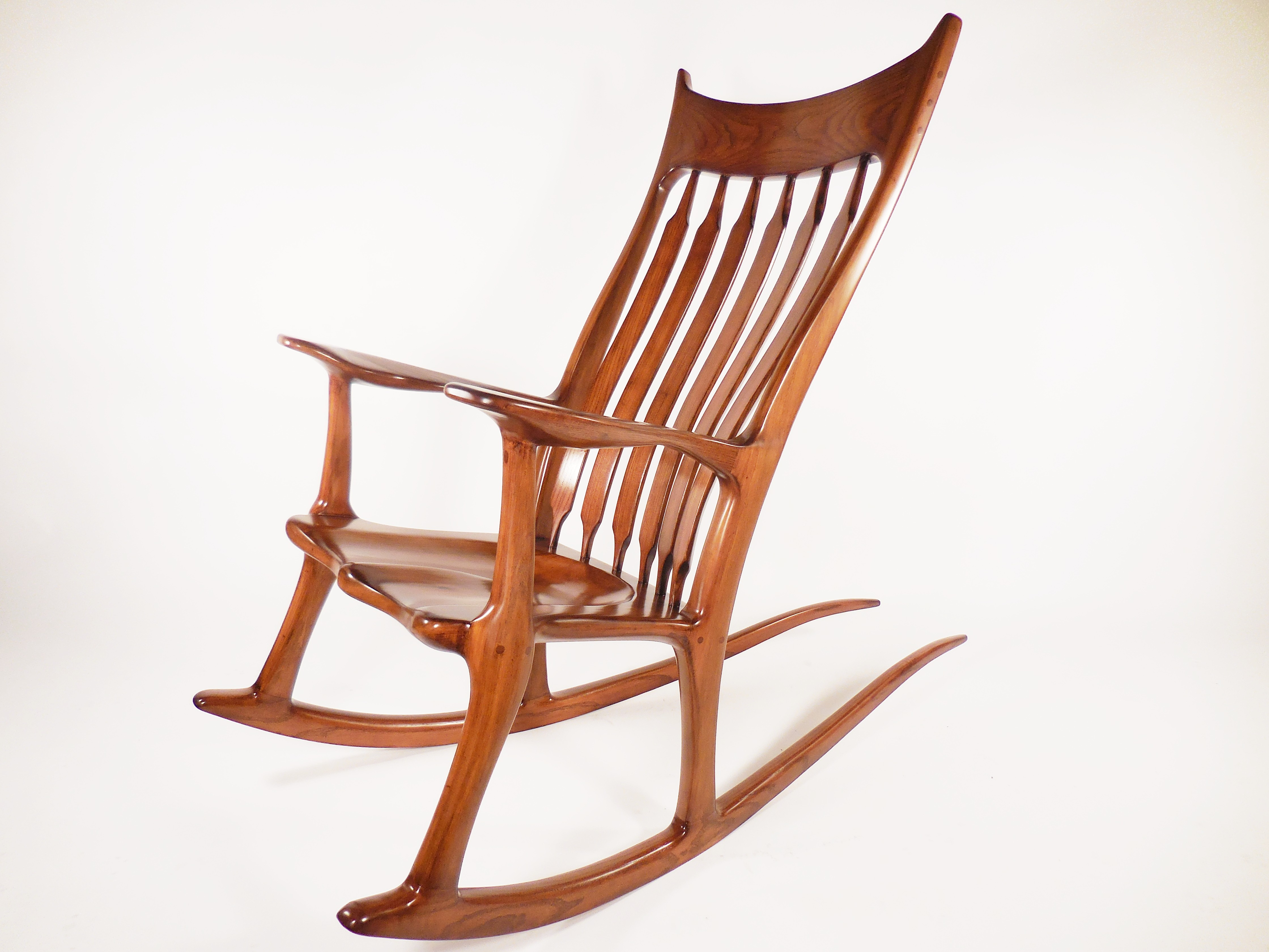 sam maloof rocking chair plans arne jacobsen vintage style apartment therapy