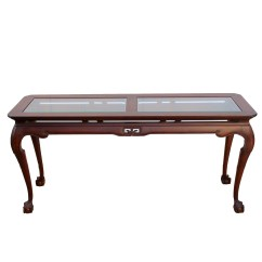 Drexel Sofa Table How To Clean A Yourself Vintage Chippendale Console Apartment