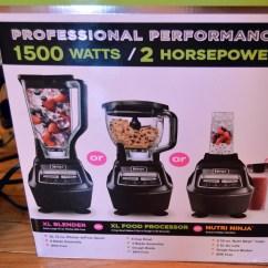 Ninja 1500 Watt Mega Kitchen System Tin Backsplash For 8 Cup Blender  Wow Blog