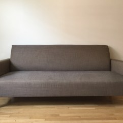 Crate And Barrel Shelter Sofa Dimensions Futon Company Bed Review 80 Quot Camden Apartment Therapy 39s Bazaar