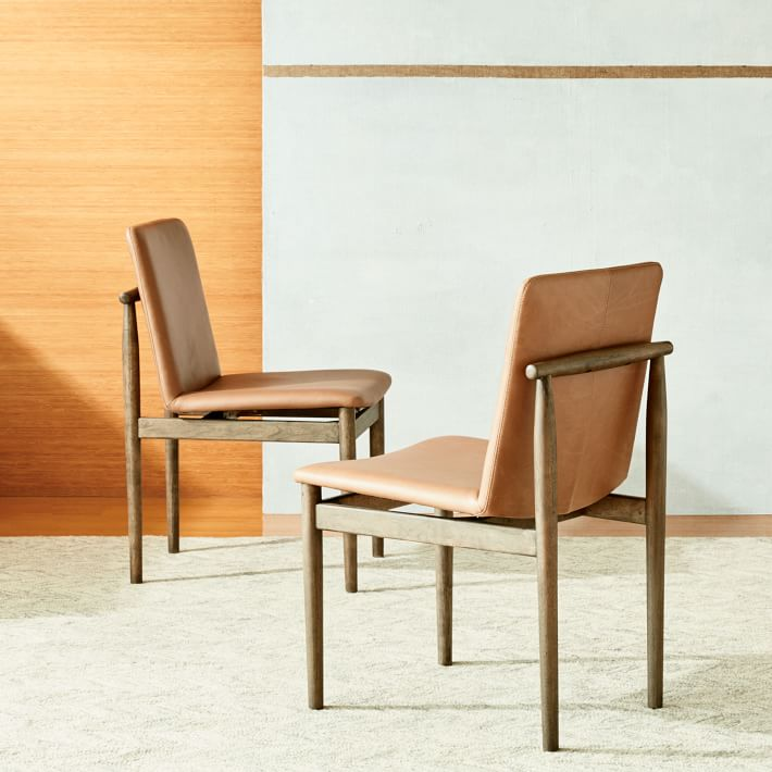 leather dining chairs antique chinese for sale 3 west elm framework apartment therapy s bazaar