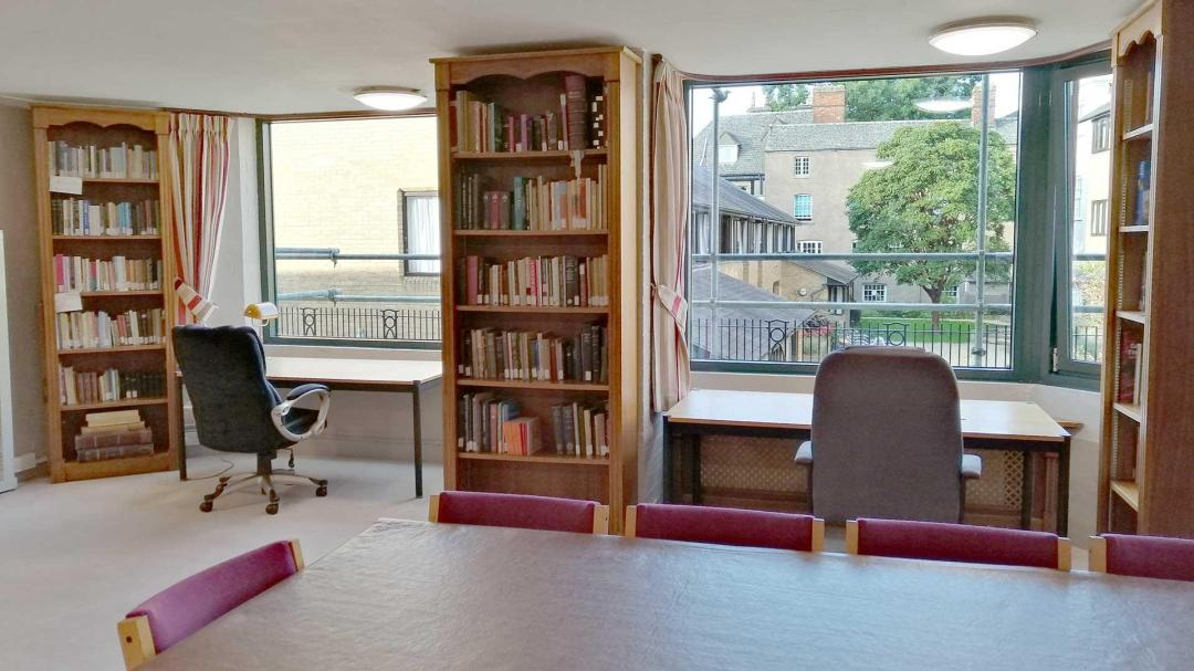 The Hopkins Library at the Oxford University Catholic Chaplaincy