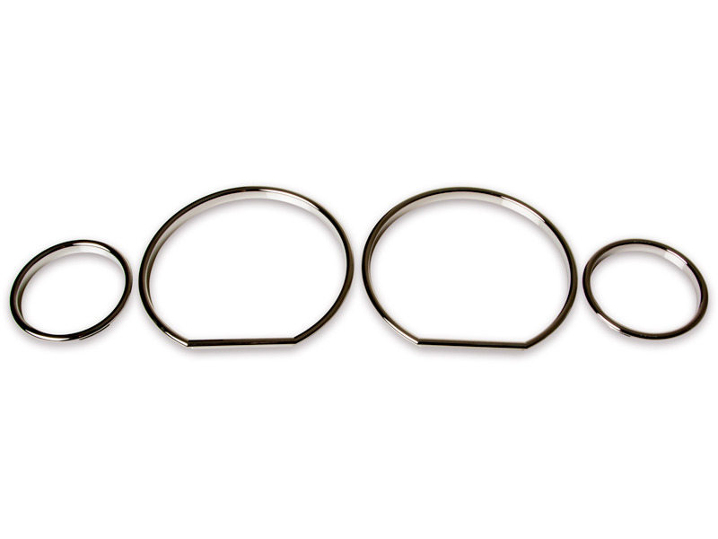 * For BMW E36 Z3 M3 Cluster Dashboard Dial Gauge Rings