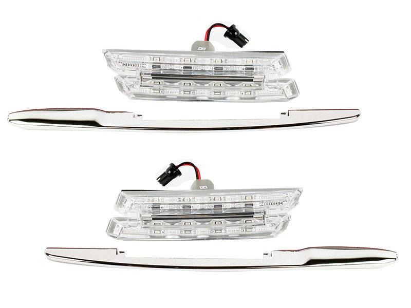 Clear Lens LED Side Marker Signal Light Indicator For BMW