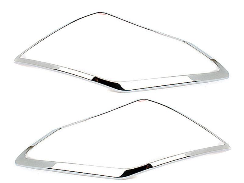 Tail Light Rear Lamp Bezel Cover Chrome Trim For Nissan