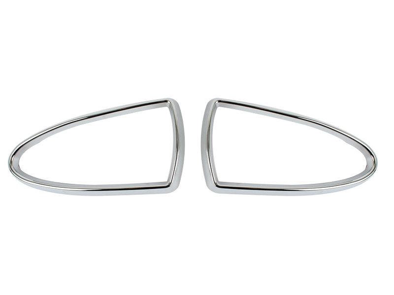 * Chrome Fog Light Trim For Jaguar S-Type Prefacelift