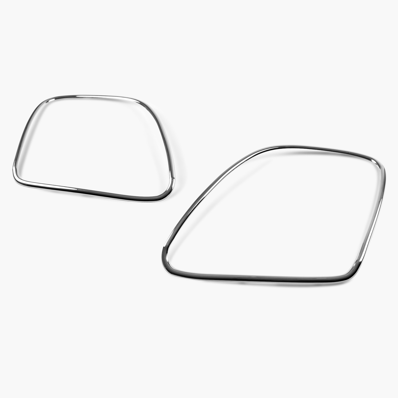 Tail Light Lamp Bezel Cover Chrome Trim For Bentley