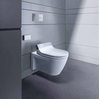 Duravit 2533590092 Starck 2 Wall-Mounted Toilet for use ...
