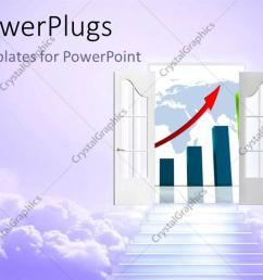 powerpoint template displaying stair to  [ 1128 x 846 Pixel ]