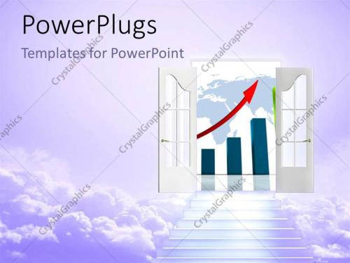 small resolution of powerpoint template displaying stair to