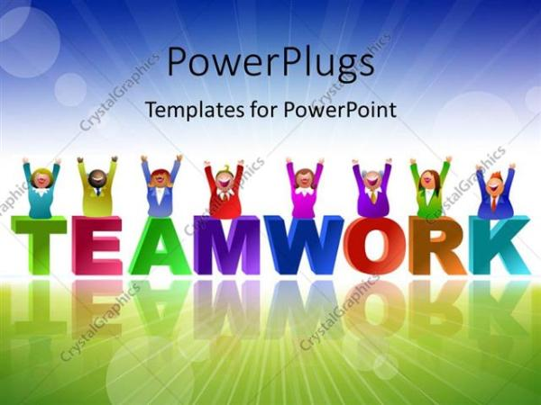 powerpoint template team