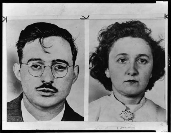Image result for 1953 – Julius & Ethel Rosenberg are executed
