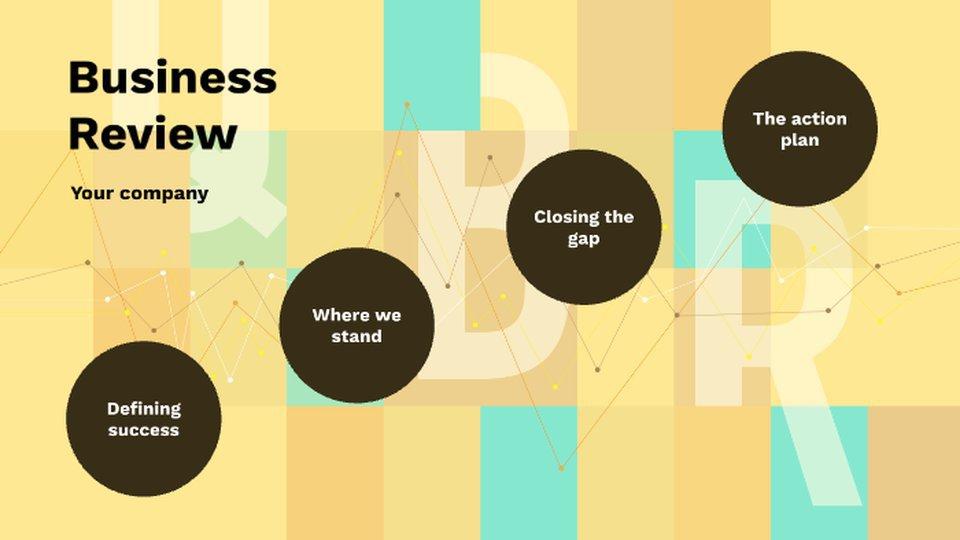 Business Review Templates Qbr Templates Prezi