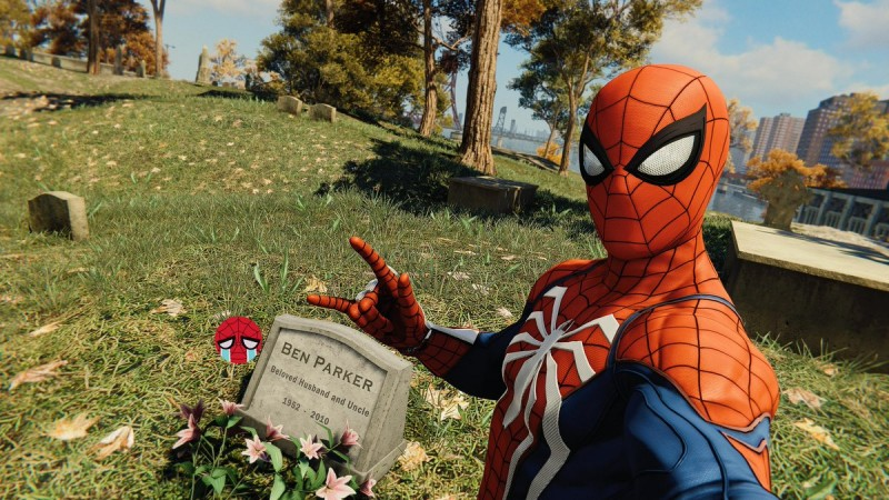 Here Are The Best Photo Mode Pictures Of Spider Man Game