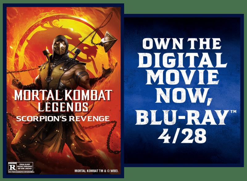 Giveaway Mortal Kombat Legends Scorpions Revenge On Digital