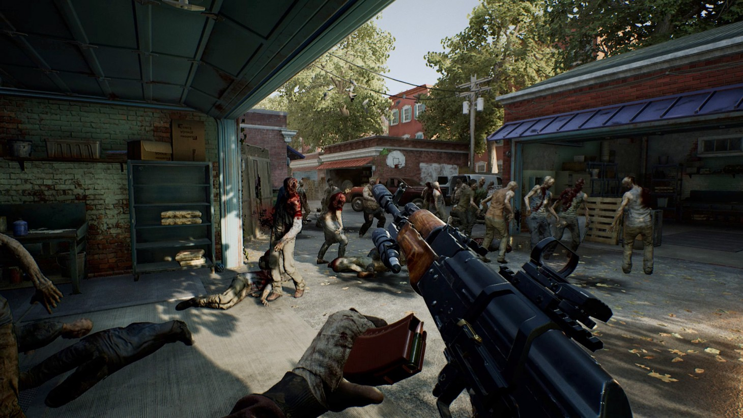 Overkill Is Killing It With The Walking Dead Game Informer