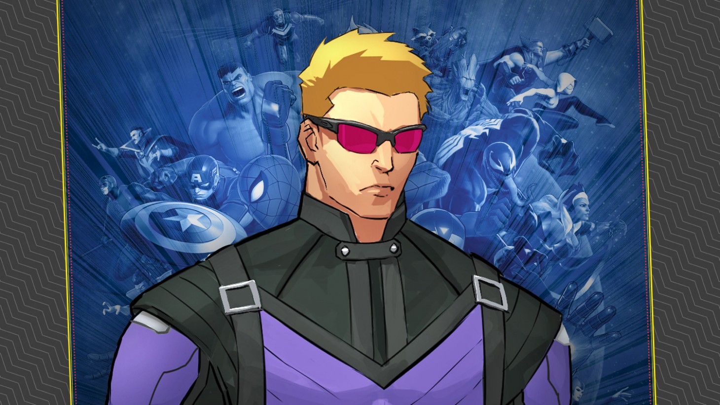 Avengers Animated Wallpaper Exclusive Hawkeye Gameplay Details In Marvel Ultimate