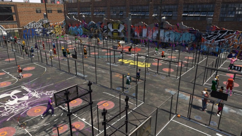Touring NBA 2K19s New And Improved Neighborhood Game Informer