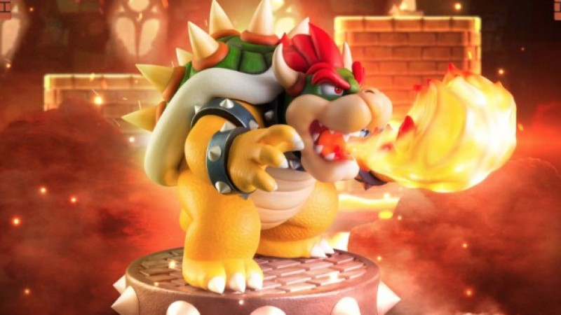Animated Galaxy Wallpaper This Large Fire Breathing Bowser Collectible Is Now