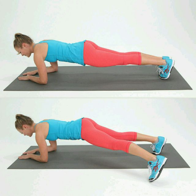 Plank Jack - Exercise How-to - Workout Trainer by Skimble