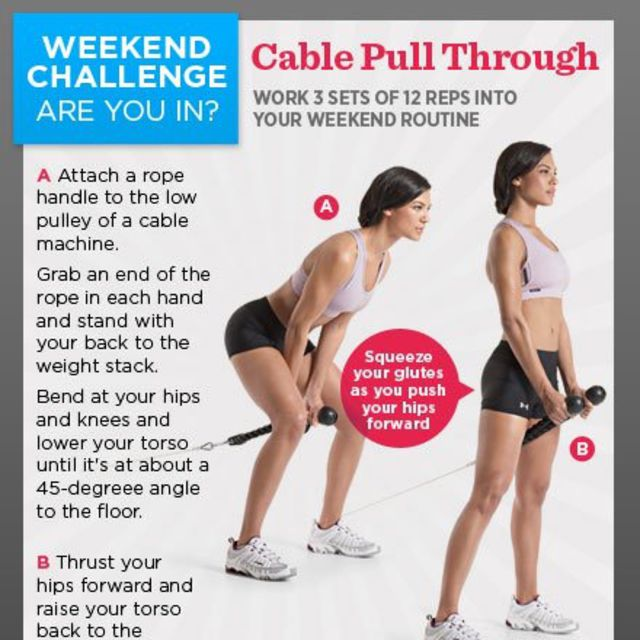 cable pull through exercise