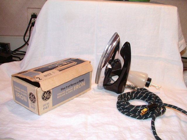 Vintage General Electric Steam Iron