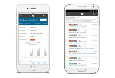 Airbrake mobile web app