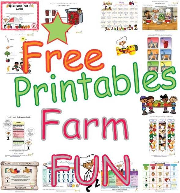 Farm Fun Activities For Kids Free Printable Farm Coloring