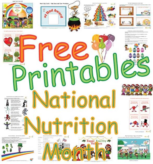 Nutrition month poem for preschool textpoems national nutrition month celebrating with thecheapjerseys Gallery