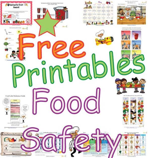 Food Safety Activities For Kids That Teach About Germ Free