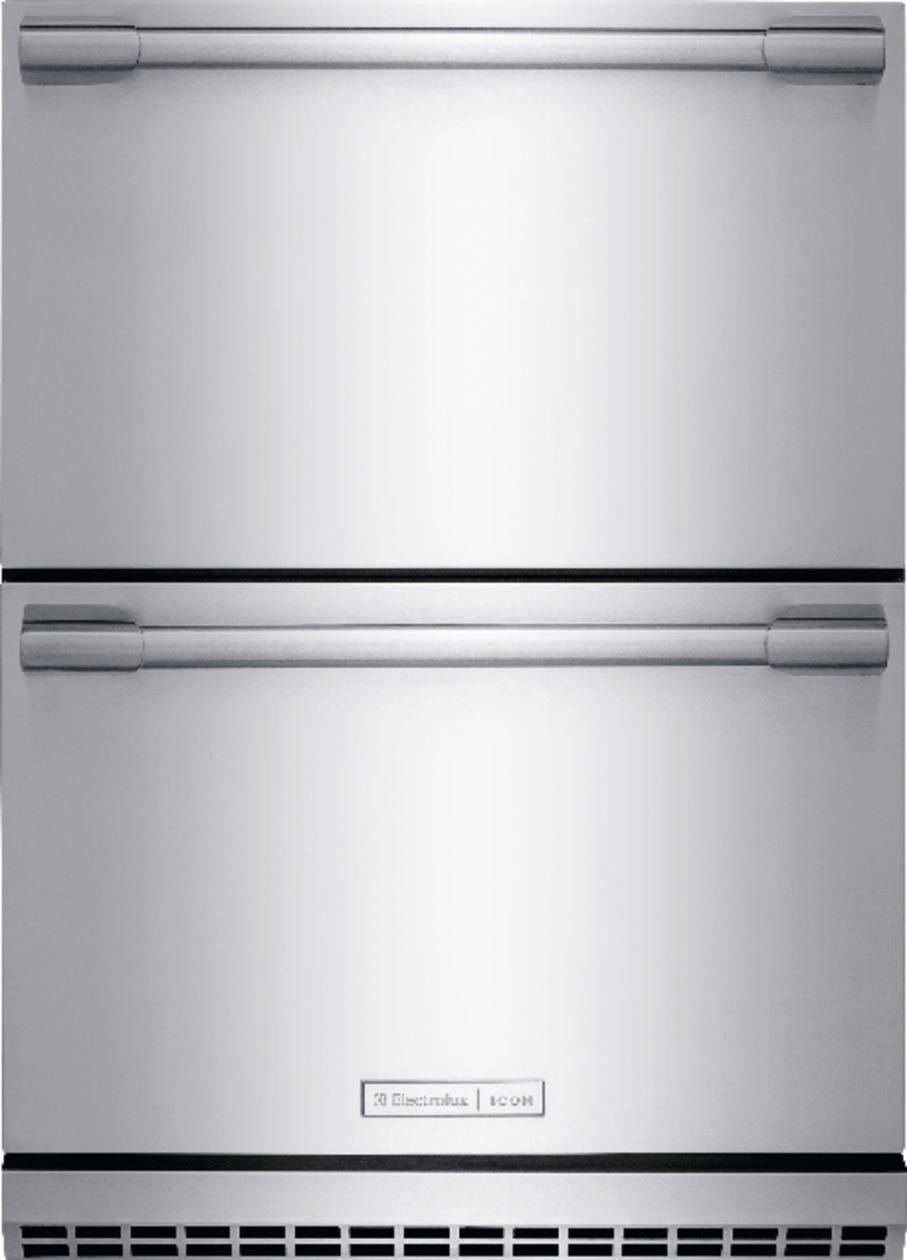 medium resolution of model e24rd50qs electrolux icon under counter refrigerator drawers